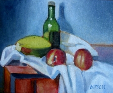 Still life with Mango, SOLD