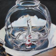 Fishbowl Still Life, SOLD