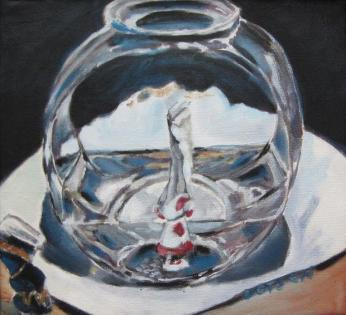 Fishbowl Still Life, SOLD