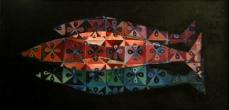 Three fish, clover pattern, 2007