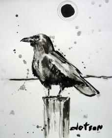 Crow, 2009, SOLD
