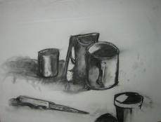Mug with mirror