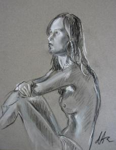 Girl sitting