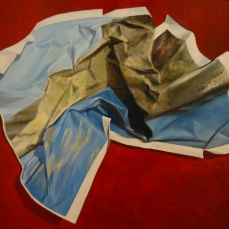 Malta Crumpled, 2010 - SOLD