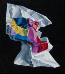 "Monumental head, 16"" x 14"", 2009"