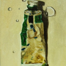 Oil and water No 1, 2009 - SOLD