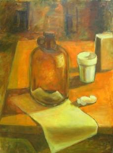 Orange Bottle, 1991