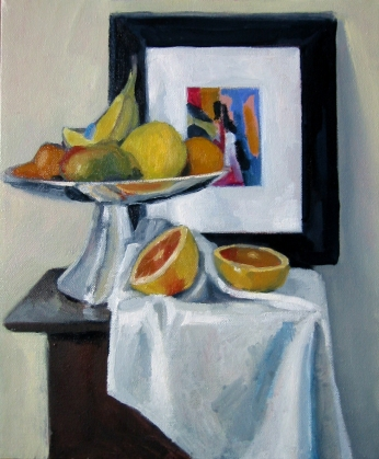 Still life with framed picture, 2009 - SOLD