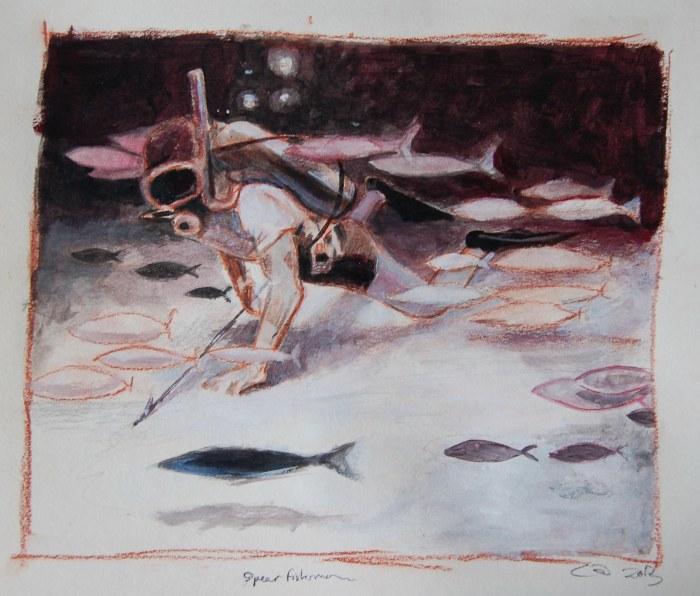 spearfisherman